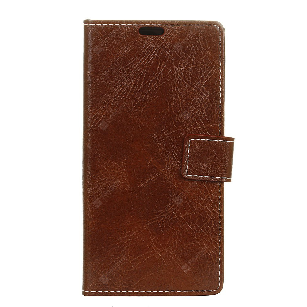 Genuine Quality Retro Style Crazy Horse Pattern Flip PU Leather Wallet Case for LG V20
