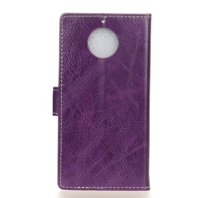 Genuine Quality Retro Style Crazy Horse Pattern Flip PU Leather Wallet Case for MOTO G6Cases &amp; Leather<br>Genuine Quality Retro Style Crazy Horse Pattern Flip PU Leather Wallet Case for MOTO G6<br><br>Features: With Credit Card Holder<br>Material: PU Leather<br>Package Contents: 1 x Flip PU Leather Wallet Case<br>Package size (L x W x H): 20.00 x 20.00 x 5.00 cm / 7.87 x 7.87 x 1.97 inches<br>Package weight: 0.0500 kg<br>Product weight: 0.0300 kg<br>Style: Solid Color