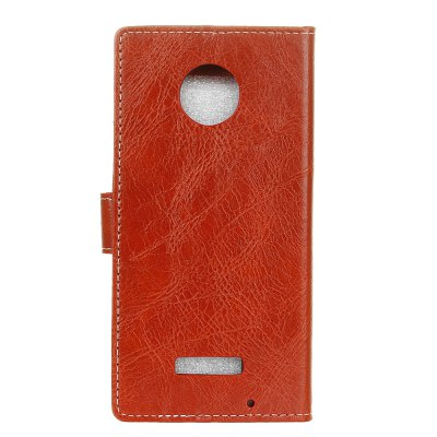 Genuine Quality Retro Style Crazy Horse Pattern Flip PU Leather Wallet Case for MOTO Z PlayCases &amp; Leather<br>Genuine Quality Retro Style Crazy Horse Pattern Flip PU Leather Wallet Case for MOTO Z Play<br><br>Features: With Credit Card Holder<br>Material: PU Leather<br>Package Contents: 1 x Flip PU Leather Wallet Case<br>Package size (L x W x H): 20.00 x 20.00 x 5.00 cm / 7.87 x 7.87 x 1.97 inches<br>Package weight: 0.0500 kg<br>Product weight: 0.0300 kg<br>Style: Solid Color