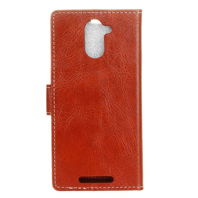 Genuine Quality Retro Style Crazy Horse Pattern Flip PU Leather Wallet Case for BQ AQUARIS U PlusCases &amp; Leather<br>Genuine Quality Retro Style Crazy Horse Pattern Flip PU Leather Wallet Case for BQ AQUARIS U Plus<br><br>Features: With Credit Card Holder<br>Material: PU Leather<br>Package Contents: 1 x Flip PU Leather Wallet Case<br>Package size (L x W x H): 20.00 x 20.00 x 5.00 cm / 7.87 x 7.87 x 1.97 inches<br>Package weight: 0.0500 kg<br>Product weight: 0.0300 kg<br>Style: Solid Color
