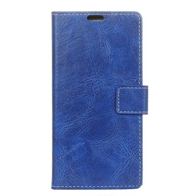 Genuine Quality Retro Style Crazy Horse Pattern Flip PU Leather Wallet Case for Huawei P8 Lite 2017