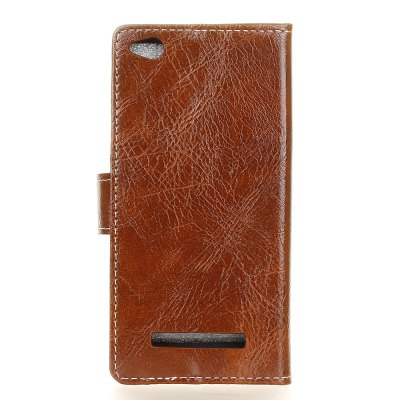 Genuine Quality Retro Style Crazy Horse Pattern Flip PU Leather Wallet Case for Xiaomi Redmi 4ACases &amp; Leather<br>Genuine Quality Retro Style Crazy Horse Pattern Flip PU Leather Wallet Case for Xiaomi Redmi 4A<br><br>Features: With Credit Card Holder<br>Material: PU Leather<br>Package Contents: 1 x Flip PU Leather Wallet Case<br>Package size (L x W x H): 20.00 x 20.00 x 5.00 cm / 7.87 x 7.87 x 1.97 inches<br>Package weight: 0.0500 kg<br>Product weight: 0.0300 kg<br>Style: Solid Color