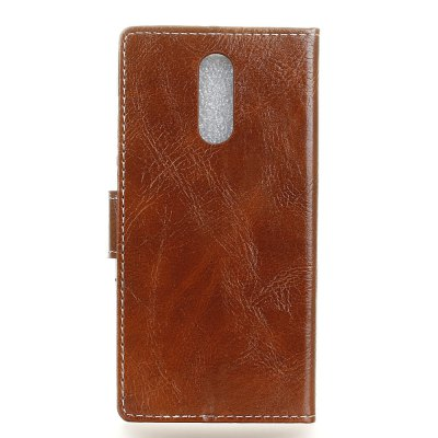 Genuine Quality Retro Style Crazy Horse Pattern Flip PU Leather Wallet Case for  Xiaomi Redmi Note 4XCases &amp; Leather<br>Genuine Quality Retro Style Crazy Horse Pattern Flip PU Leather Wallet Case for  Xiaomi Redmi Note 4X<br><br>Features: With Credit Card Holder<br>Material: PU Leather<br>Package Contents: 1 x Flip PU Leather Wallet Case<br>Package size (L x W x H): 20.00 x 20.00 x 5.00 cm / 7.87 x 7.87 x 1.97 inches<br>Package weight: 0.0500 kg<br>Product weight: 0.0300 kg<br>Style: Solid Color