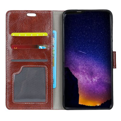 Genuine Quality Retro Style Crazy Horse Pattern Flip PU Leather Wallet Case for  Xiaomi Redmi Note 5ACases &amp; Leather<br>Genuine Quality Retro Style Crazy Horse Pattern Flip PU Leather Wallet Case for  Xiaomi Redmi Note 5A<br><br>Features: With Credit Card Holder<br>Material: PU Leather<br>Package Contents: 1 x Flip PU Leather Wallet Case<br>Package size (L x W x H): 20.00 x 20.00 x 5.00 cm / 7.87 x 7.87 x 1.97 inches<br>Package weight: 0.0500 kg<br>Product weight: 0.0300 kg<br>Style: Solid Color