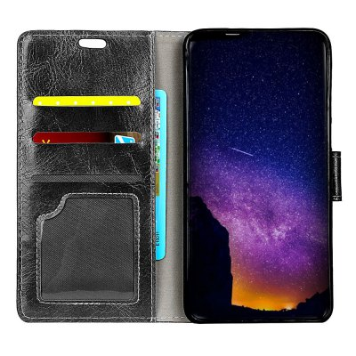 Genuine Quality Retro Style Crazy Horse Pattern Flip PU Leather Wallet Case for Huawei Honor 7XCases &amp; Leather<br>Genuine Quality Retro Style Crazy Horse Pattern Flip PU Leather Wallet Case for Huawei Honor 7X<br><br>Features: With Credit Card Holder<br>Material: PU Leather<br>Package Contents: 1 x Flip PU Leather Wallet Case<br>Package size (L x W x H): 20.00 x 20.00 x 5.00 cm / 7.87 x 7.87 x 1.97 inches<br>Package weight: 0.0500 kg<br>Product weight: 0.0300 kg<br>Style: Solid Color
