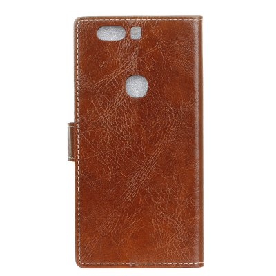 Genuine Quality Retro Style Crazy Horse Pattern Flip PU Leather Wallet Case for Huawei Honor V8Cases &amp; Leather<br>Genuine Quality Retro Style Crazy Horse Pattern Flip PU Leather Wallet Case for Huawei Honor V8<br><br>Features: With Credit Card Holder<br>Material: PU Leather<br>Package Contents: 1 x Flip PU Leather Wallet Case<br>Package size (L x W x H): 20.00 x 20.00 x 5.00 cm / 7.87 x 7.87 x 1.97 inches<br>Package weight: 0.0500 kg<br>Product weight: 0.0300 kg<br>Style: Solid Color