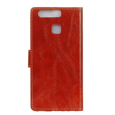 Genuine Quality Retro Style Crazy Horse Pattern Flip PU Leather Wallet Case for Huawei P9Cases &amp; Leather<br>Genuine Quality Retro Style Crazy Horse Pattern Flip PU Leather Wallet Case for Huawei P9<br><br>Features: With Credit Card Holder<br>Material: PU Leather<br>Package Contents: 1 x Flip PU Leather Wallet Case<br>Package size (L x W x H): 20.00 x 20.00 x 5.00 cm / 7.87 x 7.87 x 1.97 inches<br>Package weight: 0.0500 kg<br>Product weight: 0.0300 kg<br>Style: Solid Color