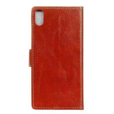 Genuine Quality Retro Style Crazy Horse Pattern Flip PU Leather Wallet Case for iPhone XiPhone Cases/Covers<br>Genuine Quality Retro Style Crazy Horse Pattern Flip PU Leather Wallet Case for iPhone X<br><br>Features: With Credit Card Holder<br>Material: PU<br>Package Contents: 1 x Flip PU Leather Wallet Case<br>Package size (L x W x H): 20.00 x 20.00 x 5.00 cm / 7.87 x 7.87 x 1.97 inches<br>Package weight: 0.0500 kg<br>Product weight: 0.0300 kg<br>Style: Solid Color