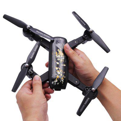 Foldable RC Quadcopter - RTF 2.0MP Wide Angle Camera + Air Press Altitude Hold