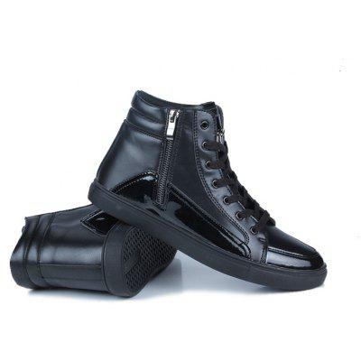 Autumn and Winter High Breathable Casual MenS ShoesCasual Shoes<br>Autumn and Winter High Breathable Casual MenS Shoes<br><br>Available Size: 39-44<br>Closure Type: Lace-Up<br>Embellishment: Chains<br>Gender: For Men<br>Outsole Material: Rubber<br>Package Contents: 1xShoes(pair)<br>Pattern Type: Others<br>Season: Spring/Fall<br>Toe Shape: Round Toe<br>Toe Style: Closed Toe<br>Upper Material: PU<br>Weight: 1.2800kg