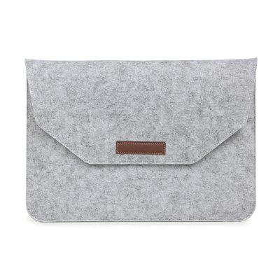 Wake Evenlope Style Soft Felt Sleeve Back for Laptap Notebook Tablet 12 Inch