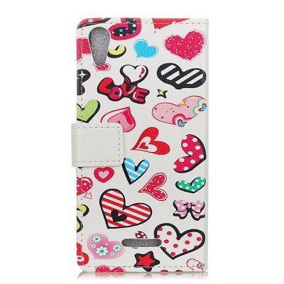 Wkae Painted Pattern Holster Case for Wiko Lenny 4Cases &amp; Leather<br>Wkae Painted Pattern Holster Case for Wiko Lenny 4<br><br>Compatible Model: Wiko Lenny 4<br>Features: Full Body Cases, Cases with Stand, With Credit Card Holder, Anti-knock, Dirt-resistant<br>Material: TPU, PU Leather<br>Package Contents: 1 x Phone Case<br>Package size (L x W x H): 20.00 x 10.00 x 3.00 cm / 7.87 x 3.94 x 1.18 inches<br>Package weight: 0.0440 kg<br>Style: Novelty, Pattern