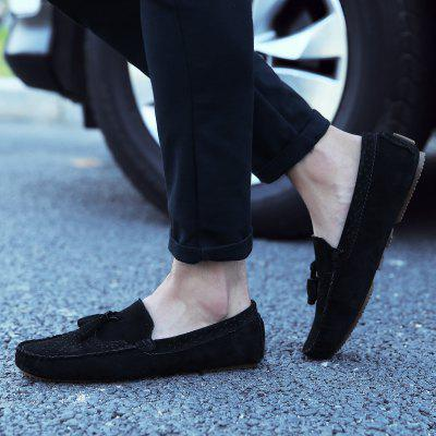 MenS Casual Shoes Bean ShoesFlats &amp; Loafers<br>MenS Casual Shoes Bean Shoes<br><br>Available Size: 38 39 40 41 42 43 44<br>Closure Type: Slip-On<br>Embellishment: Tassel<br>Gender: For Men<br>Outsole Material: Rubber<br>Package Contents: 1xShoes(pair)<br>Pattern Type: Solid<br>Season: Winter, Spring/Fall<br>Toe Shape: Round Toe<br>Toe Style: Closed Toe<br>Upper Material: Cow Split<br>Weight: 1.2000kg
