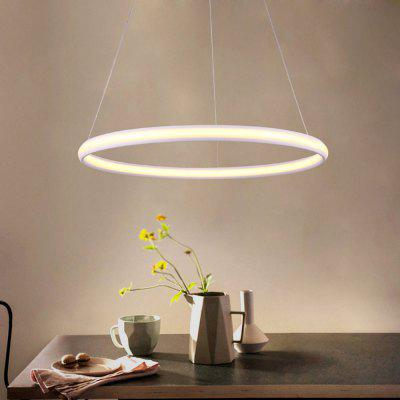 Ever flower modern simple round led pendant light for living ever flower modern simple round led pendant light for living dining room kitchen mozeypictures Choice Image
