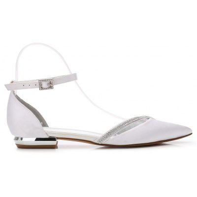 Womens Wedding Shoes Basic Pump Ankle Strap Comfort Spring Summer Satin Wedding PartyWomens Flats<br>Womens Wedding Shoes Basic Pump Ankle Strap Comfort Spring Summer Satin Wedding Party<br><br>Available Size: 36 37 38 39 40 41 42 43<br>Closure Type: Lace-Up<br>Embellishment: Criss-Cross<br>Flat Type: Ballet Flats<br>Gender: For Women<br>Heel Height: 1.5CM<br>Heel Height Range: Flat(0-0.5)<br>Insole Material: PU<br>Lining Material: PU<br>Occasion: Wedding<br>Outsole Material: Rubber<br>Package Contents: 1 x Shoes (Pair)<br>Package size (L x W x H): 32.00 x 13.00 x 10.00 cm / 12.6 x 5.12 x 3.94 inches<br>Package weight: 0.5500 kg<br>Pattern Type: Solid<br>Season: Spring/Fall, Summer<br>Shoe Width: Medium(B/M)<br>Toe Shape: Pointed Toe<br>Toe Style: Closed Toe<br>Upper Material: Satin