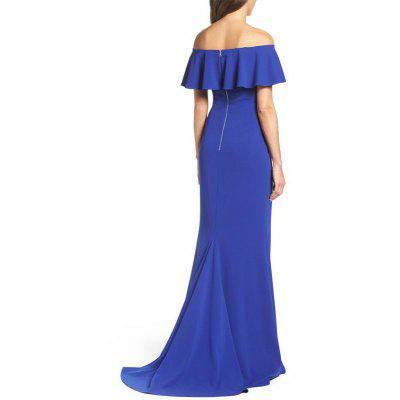 Womens Maxi Long Slash Neck Solid Color Sexy Sheath DressWomens Dresses<br>Womens Maxi Long Slash Neck Solid Color Sexy Sheath Dress<br><br>Image Source: Actual Images<br>Material: Acetate<br>Neckline: Bateau<br>Package Contents: 1 x Dress<br>Season: Spring, Summer, Fall<br>Silhouette: Sheath<br>Weight: 0.3500kg
