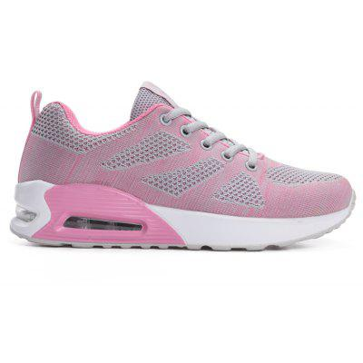 All-Match Leisure Breathable Soft and Comfortable Shoes NetWomens Sneakers<br>All-Match Leisure Breathable Soft and Comfortable Shoes Net<br><br>Available Size: 35-40<br>Closure Type: Lace-Up<br>Feature: Breathable<br>Gender: For Women<br>Outsole Material: PU<br>Package Contents: 1 x Shoes (pair)<br>Package size (L x W x H): 31.50 x 20.50 x 11.50 cm / 12.4 x 8.07 x 4.53 inches<br>Package weight: 0.8500 kg<br>Pattern Type: Striped<br>Season: Spring/Fall<br>Upper Material: Synthetic