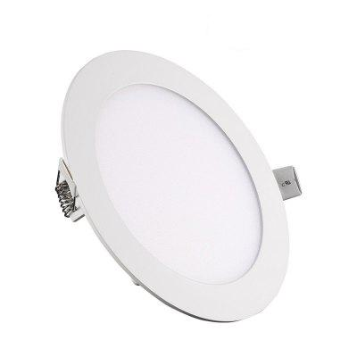 12W Dimmable Round Ultra-thin LED Panel Light Lamp 5pcs