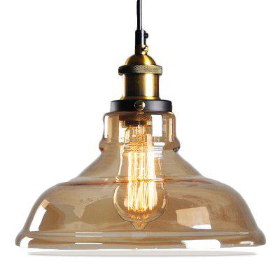 11inches Modern Edison Vintage Style Pendant Light Hanging Gl Mounted Fixture 2pcs
