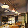 Industrial Retro Metal Pendant Lights for Kitchen 2PCS - BLACK