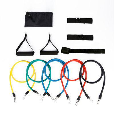 Resistance Band Set with Handles Home Workouts