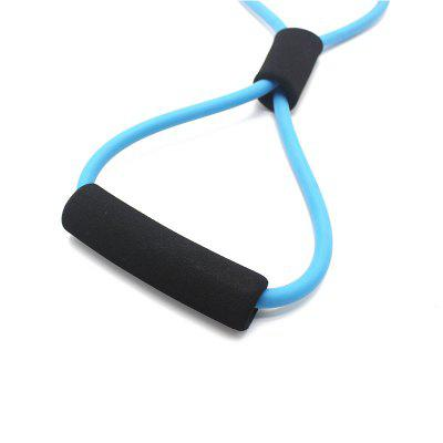 Figure 8 Ultra Premium Toner Resistance Exercise Band for Yoga Fitness WorkoutExercise Equipments<br>Figure 8 Ultra Premium Toner Resistance Exercise Band for Yoga Fitness Workout<br><br>Functions: Chest, Comprehensive Fitness Exercise, Leg<br>Package Content: 1 x Resistance Band<br>Package Size(L x W x H): 40.00 x 15.00 x 3.00 cm / 15.75 x 5.91 x 1.18 inches<br>Package weight: 0.0810 kg<br>Product Size(L x W x H): 35.00 x 10.00 x 3.00 cm / 13.78 x 3.94 x 1.18 inches<br>Product weight: 0.0500 kg<br>Type: Gym Ribbon