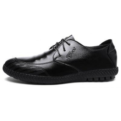 Men Casual Outdoor Business Formal Wedding Lace Up Leather Trend for Fashion ShoesFormal Shoes<br>Men Casual Outdoor Business Formal Wedding Lace Up Leather Trend for Fashion Shoes<br><br>Available Size: 38-44<br>Closure Type: Lace-Up<br>Embellishment: None<br>Gender: For Men<br>Occasion: Casual<br>Outsole Material: Rubber<br>Package Contents: 1?Shoes(pair)<br>Pattern Type: Solid<br>Season: Winter, Spring/Fall<br>Toe Shape: Round Toe<br>Toe Style: Closed Toe<br>Upper Material: Leather<br>Weight: 1.2000kg