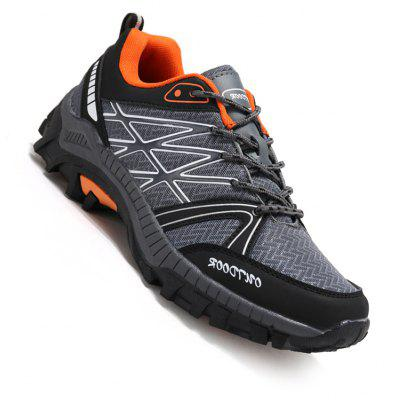 Men Casual New Trend for Fashion Outdoor Lace Up Rubber Plus Big Size Shoes