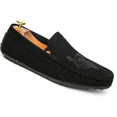 Men Casual Shoes Cloth Slip on Loafers Comfortable Footwear Sneakers