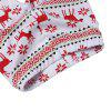 2pcs Newborn Baby Boys Girls T-shirt Tops Long Pants Jumpsuit Christmas Outfits Clothes - WHITE