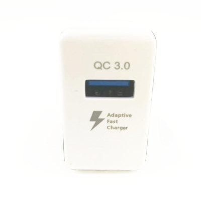 Qualcomm QC3.0 Quick Charger USB Intelligent Distribution Current 5V / 3.1 9V / 2A 12V / 1.6AChargers &amp; Cables<br>Qualcomm QC3.0 Quick Charger USB Intelligent Distribution Current 5V / 3.1 9V / 2A 12V / 1.6A<br><br>Charging current: 5V/3A 9V/2A 12V/1.6A<br>Color: Black,White<br>Compatible Devices: Samsung Mobile Phone, Samsung Tablet, Universal<br>Mainly Compatible with: iPhone 6, iPhone 5/5S, Samsung S6, Universal, Motorola, Sony Ericsson, LG, HTC One M9, Nokia Lumia 920/820, Google Nexus 4/5, iPhone 5C, GSM+WCDMA, Samsung Galaxy S6 Edge, Samsung Galaxy Note i9220, Samsung Galaxy Premier i9260/i9268, Galaxy Note 2 N7100, iPhone 4/4S, Google Nexus 7 2nd, Samsung Galaxy S6 Edge Plus, Samsung Note 5, Galaxy Note 4, Z3 Compact, Xperia Z3, Blackberry, Nokia, HTC, HTC 8X, SAMSUNG, Apple, Xiaomi, Zenfone, Lumia 830, GALAXY Mega2, Galaxy Note 3 N9000, Samsung Galaxy S3 I9300, Samsung Galaxy S4 I9500/I9505, G2, Moto X+1, D7, Mate 7, Lumia 730<br>Package Contents: 1 x Charger<br>Package size (L x W x H): 14.50 x 6.50 x 3.80 cm / 5.71 x 2.56 x 1.5 inches<br>Package weight: 0.0715 kg<br>Product size (L x W x H): 8.00 x 4.30 x 2.50 cm / 3.15 x 1.69 x 0.98 inches<br>Product weight: 0.0435 kg