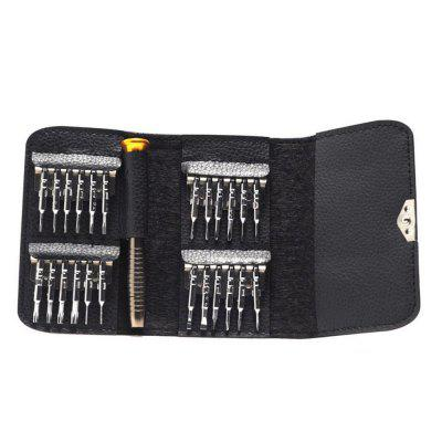 Computer Flat Watch Mobile Phone 25 in One Maintenance Tool
