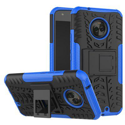Buy BLUE Heavy-duty Hard Back Case Cover with Kickstand for HUAWEI MaiMang 6 for $4.27 in GearBest store