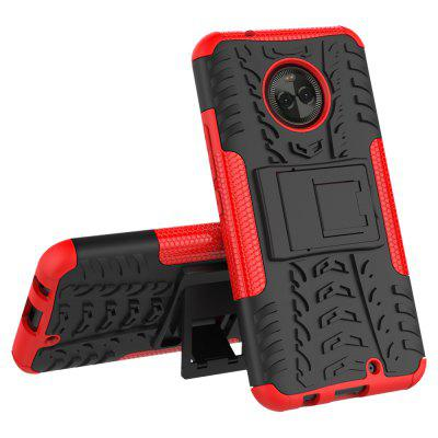 Buy RED Heavy-duty Hard Back Case Cover with Kickstand for HUAWEI MaiMang 6 for $4.27 in GearBest store