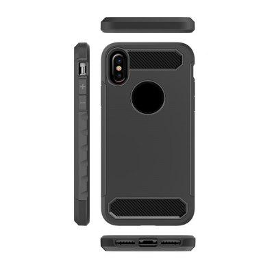 Carbon Fiber Drop-proof Phone Case for iPhone XiPhone Cases/Covers<br>Carbon Fiber Drop-proof Phone Case for iPhone X<br><br>Features: Back Cover, Bumper Frame<br>Material: Zinic<br>Package Contents: 1 x Case<br>Package size (L x W x H): 18.00 x 8.00 x 2.00 cm / 7.09 x 3.15 x 0.79 inches<br>Package weight: 0.0460 kg<br>Product size (L x W x H): 16.00 x 6.00 x 0.70 cm / 6.3 x 2.36 x 0.28 inches<br>Product weight: 0.0450 kg<br>Style: Solid Color, Novelty
