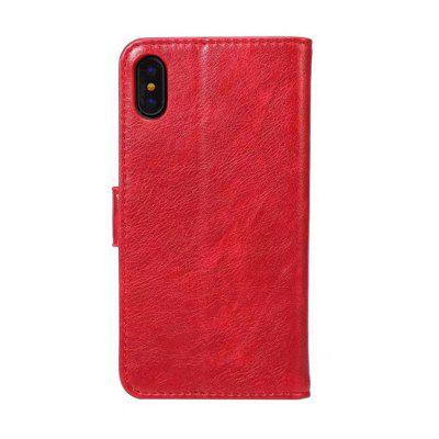 Case For iPhone X Card Holder with Stand Flip Full Body Solid Color Hard PU LeatheriPhone Cases/Covers<br>Case For iPhone X Card Holder with Stand Flip Full Body Solid Color Hard PU Leather<br><br>Compatible for Apple: iPhone X<br>Features: Cases with Stand, With Credit Card Holder, FullBody Cases<br>Material: PU Leather<br>Package Contents: 1 x Phone Case<br>Package size (L x W x H): 17.00 x 9.80 x 2.00 cm / 6.69 x 3.86 x 0.79 inches<br>Package weight: 0.0810 kg<br>Product weight: 0.0750 kg<br>Style: Solid Color