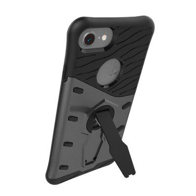 For iPhone 8 / 7 Cases Three-Dimensional Scaffold Rotating Armor in One Mobile Phone Back ShelliPhone Cases/Covers<br>For iPhone 8 / 7 Cases Three-Dimensional Scaffold Rotating Armor in One Mobile Phone Back Shell<br><br>Compatible for Apple: iPhone 7, iPhone 8<br>Features: Back Cover, Cases with Stand<br>Material: Plastic<br>Package Contents: 1 x Phone Case<br>Package size (L x W x H): 15.00 x 10.00 x 3.00 cm / 5.91 x 3.94 x 1.18 inches<br>Package weight: 0.0550 kg<br>Product weight: 0.0500 kg<br>Style: Novelty