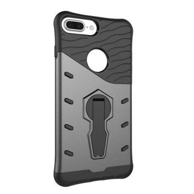 For iPhone 8 Plus / 7 Plus Cases Three-Dimensional Scaffold Rotating Armor in One Mobile Phone Back ShelliPhone Cases/Covers<br>For iPhone 8 Plus / 7 Plus Cases Three-Dimensional Scaffold Rotating Armor in One Mobile Phone Back Shell<br><br>Compatible for Apple: iPhone 7 Plus, iPhone 8 Plus<br>Features: Back Cover<br>Material: Plastic<br>Package Contents: 1 x Phone Case<br>Package size (L x W x H): 18.00 x 12.00 x 3.00 cm / 7.09 x 4.72 x 1.18 inches<br>Package weight: 0.0650 kg<br>Product weight: 0.0600 kg<br>Style: Novelty