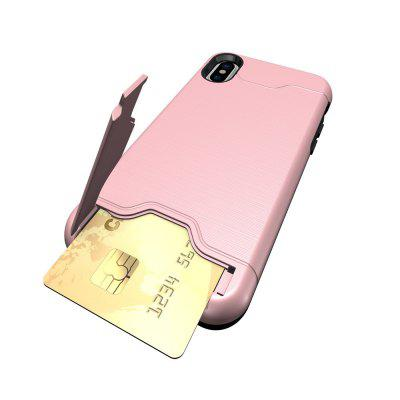 For iPhone X Case Carla Silk Purse Back ShelliPhone Cases/Covers<br>For iPhone X Case Carla Silk Purse Back Shell<br><br>Compatible for Apple: iPhone X<br>Features: Back Cover, With Credit Card Holder<br>Material: Plastic, TPU<br>Package Contents: 1 x Phone Case<br>Package size (L x W x H): 18.00 x 12.00 x 3.00 cm / 7.09 x 4.72 x 1.18 inches<br>Package weight: 0.0550 kg<br>Product weight: 0.0500 kg<br>Style: Novelty