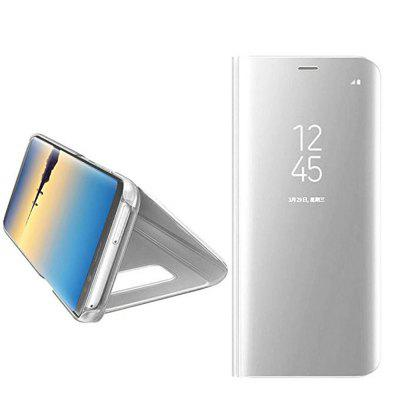 Mirror Flip Leather Case Clear View Window Smart Cover for Samsung Galaxy Note 8