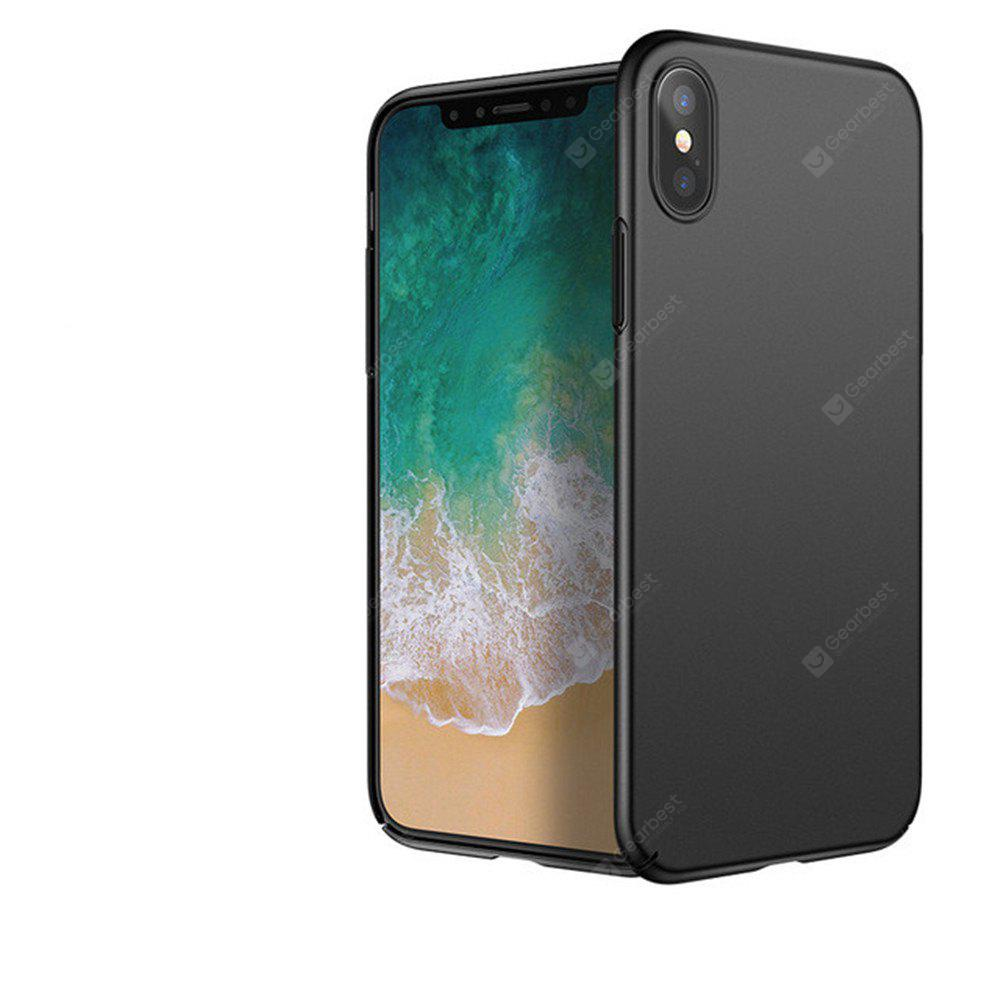 Beni di Lusso PC Completo Antiurto in Plastica Ultra Sottile per iPhone X Case