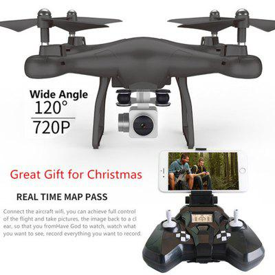 Wifi fpv Remote Control RC Drone S10 with 720P Wide Camera Headless Mode One-key Return Remote Control RC
