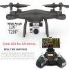S10 WiFi FPV 2.4GHz 4-channel RC Drone - RTF - BLACK