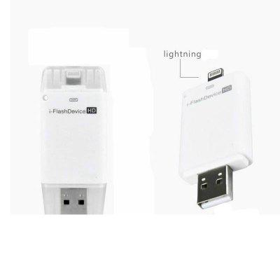 Chaud I-Flash HD Pilote U-Disk Lightning pour iPhone Interface Micro USB Flash Drive