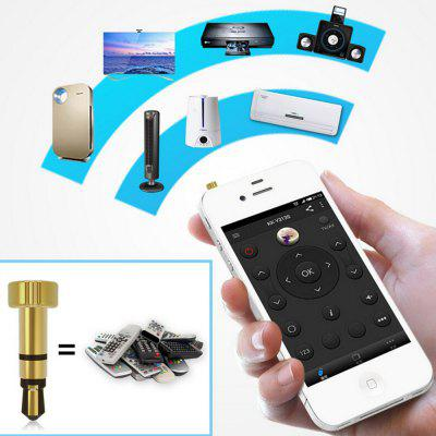 Portable Iphone/ipad/Touch Mini Pocket Mobile Phone Smart IR Remote Control for Air Conditioner TV DVD Projector