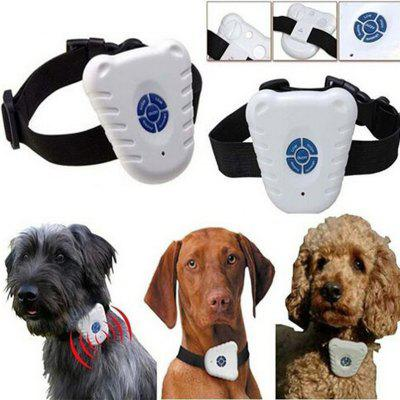 Light weight Ultrasonic & Audible control No-bark collar Stop Barking dog Training Device dogs