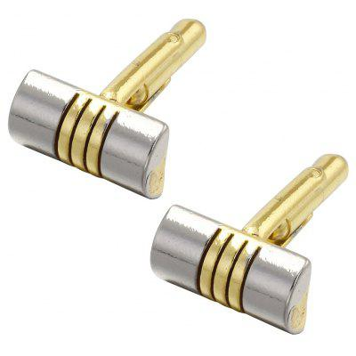 Luxury French Cufflinks for MenS Gift Gold Plated Simple Style Cuff LinksTies &amp; Cufflinks<br>Luxury French Cufflinks for MenS Gift Gold Plated Simple Style Cuff Links<br><br>Gender: Unisex<br>Metal Type: Zinc Alloy<br>Package Contents: 1 x Pair of Cufflinks,1 x tie clip<br>Package size (L x W x H): 2.00 x 3.00 x 3.00 cm / 0.79 x 1.18 x 1.18 inches<br>Package weight: 1.0000 kg<br>Pattern Type: Striped<br>Style: Romantic<br>Type: Cuff Links