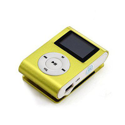 Mini USB Clip MP3 Player Pantalla LCD Soporte 32 GB TF tarjeta Micro SD
