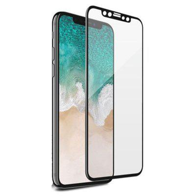 Full Coverage Soft Edge 9H Tempered Glass Screen Protector for iPhone X