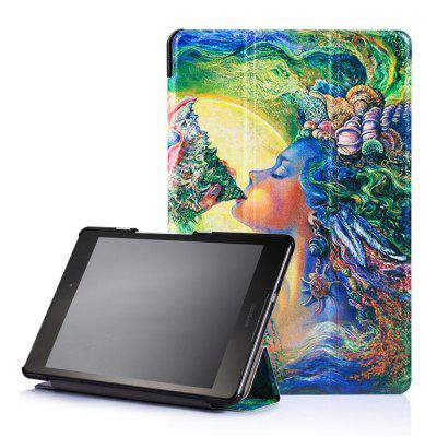 Leather Tablet Case for Zenpad 3 8.0 Z581KL with Auto Sleep / Wake Function